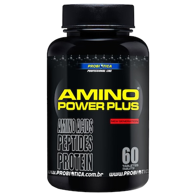 Amino Power Plus – 60 Tabletes – Probiótica