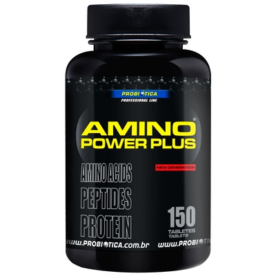 Aminoácido Probiótica Amino Power Plus - 150 Tabletes