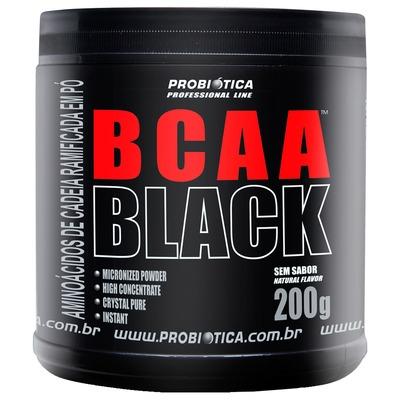 BCAA Probiótica BCAA Black - Sem Sabor - 200g