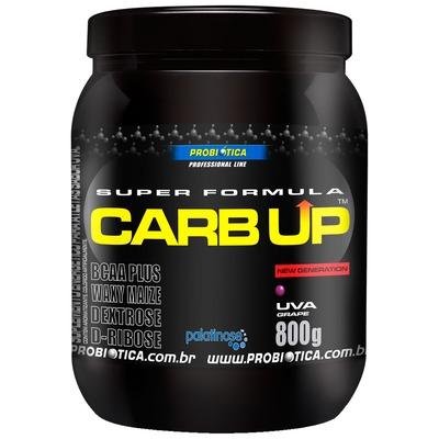 Energético CARB UP Super Fórmula - 800 g - Sabor Uva – Probiótica