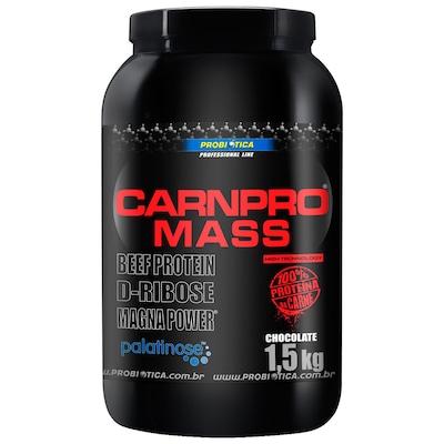 Hipercalórico Probiótica Carnpro Mass - Chocolate - 1,5Kg