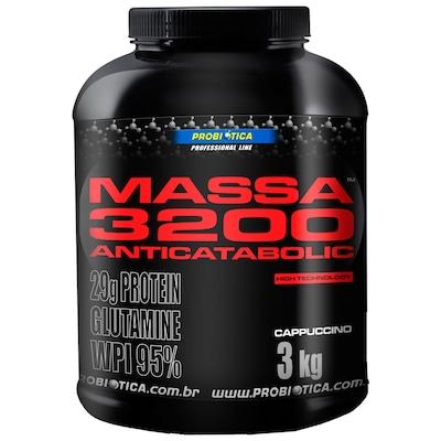 MASSA 3200 ANTICATABOLIC – 3 Kg – Sabor Cappuccino - Probiótica