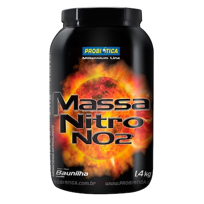 MASSA NITRO NO2 - 1,4 Kg - Baunilha - Probiótica