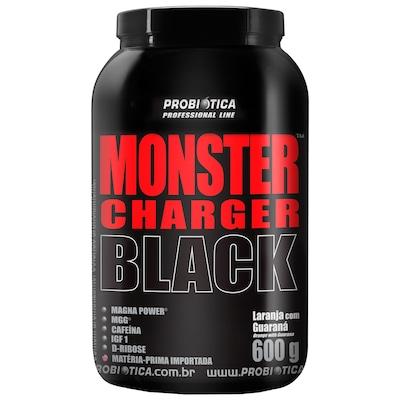 Monster Charger Black™- 600 g – Laranja com Guaraná - Probiótica