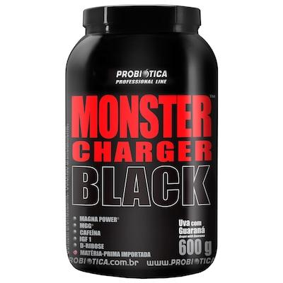 Monster Charger Black™- 600 g – Uva com Guaraná - Probiótica