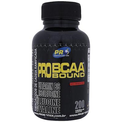 PRO BCAA BOUND -  128 g - 200 Cápsulas - Probiótica