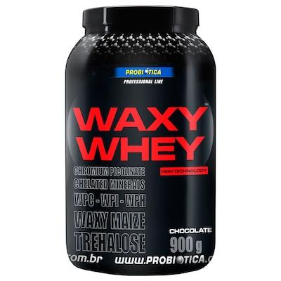 Whey Protein Probiótica Waxy Maize - Chocolate - 900g