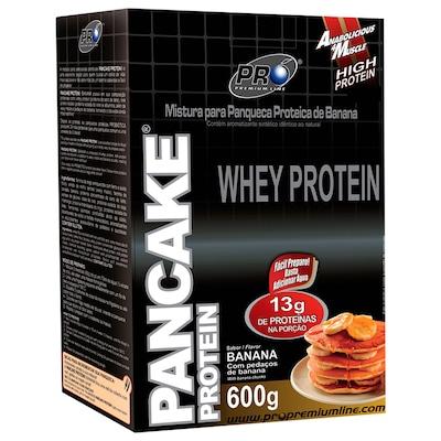 Mistura para Panqueca Proteica de Banana Pancake Protein Probiótica - 600g