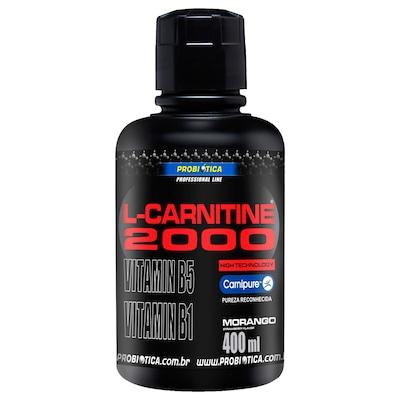 L-Carnitina Probiótica L-Carnitine 2000 - Morango - 400ml