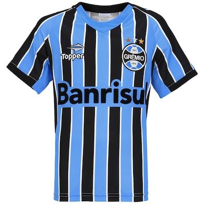 Camisa Topper Grêmio I 2014 nº 10 – Infantil