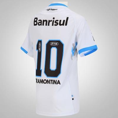 Camisa Topper Grêmio II 2014 nº 10 – Infantil
