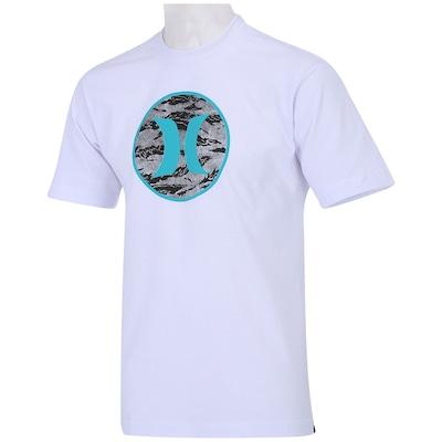 Camiseta Hurley Block Party Cammo – Adulto