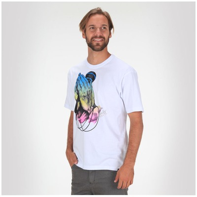 Camiseta Hurley Praying Hands - Masculina