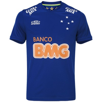 Camisa Olympikus Cruzeiro I 2014 nº 10 - Torcedor