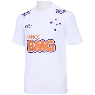 Camisa Olympikus Cruzeiro II 2014 Nº 10 - Torcedor