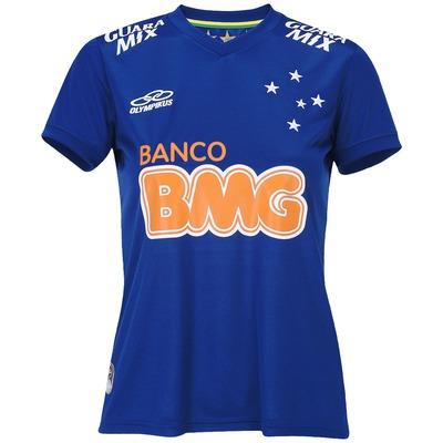 Camisa Olympikus Cruzeiro I 2014 s/n° - Torcedor