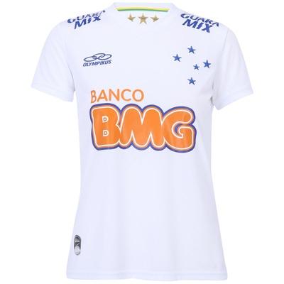 Camisa Olympikus Cruzeiro II 2014 s/nº - Feminina