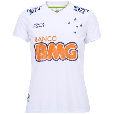 Camisa Olympikus Cruzeiro II 2014 nº 10 – Feminina