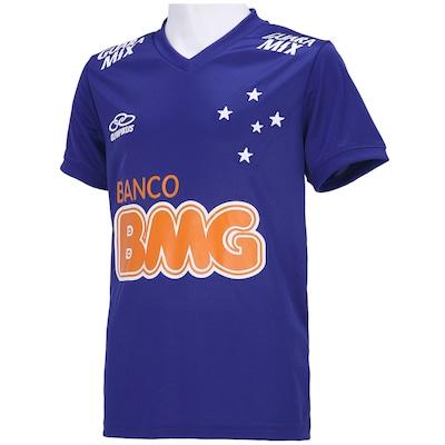 Camisa Olympikus Cruzeiro I 2014 nº10 - Infantil
