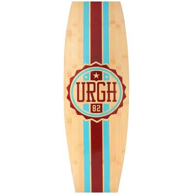 Longboard Urgh Sunset Bamboo Logo