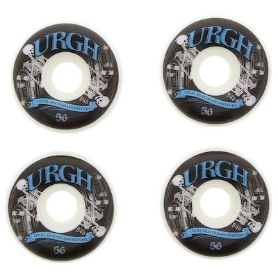 Roda de Skate Urgh 56 mm Com 4 Unidades