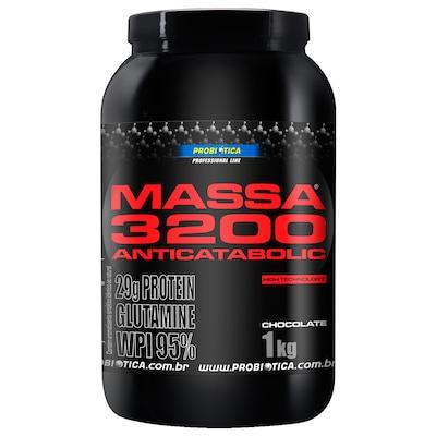 Massa 3200 Anticatabolic - 1 Kg - Sabor Chocolate - Probiótica