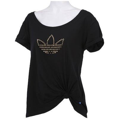 Camiseta adidas Logo Studs - Feminina