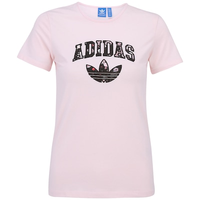 Camiseta adidas Slim Logo - Feminina