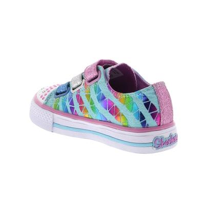 Tênis Skechers Classy Sassy - Com Luz - Feminino - Infantil