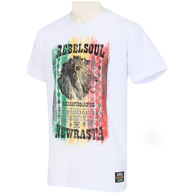 Camiseta New Skate New Rasta