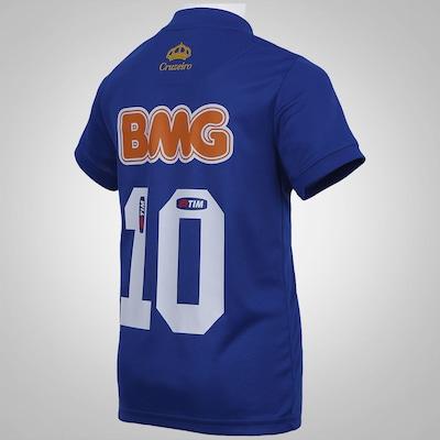 Camisa Olympikus Cruzeiro I 2014 n° 10 – Infantil