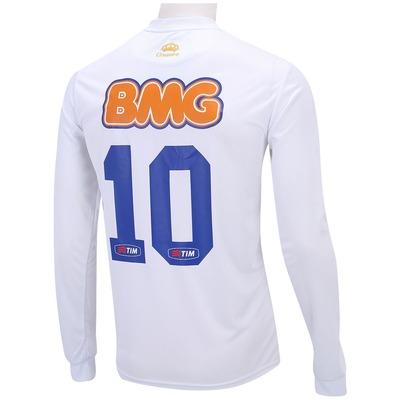 Camisa Manga Longa Olympikus Cruzeiro II 2014 nº10