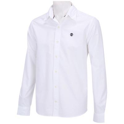 Camisa Manga Longa Timberland Slim Oxford