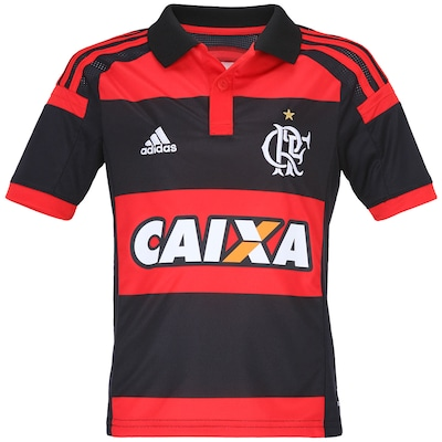 Camisa do Flamengo I 2014 adidas - Infantil