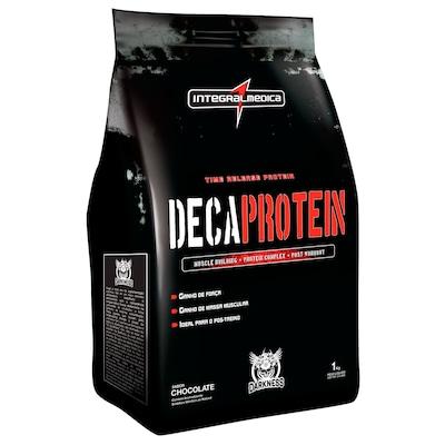 Whey Protein Integralmédica Deca Protein - Chocolate - 1Kg