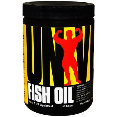 Óleo de Peixe Universal Fish Oil - 100 Cápsulas