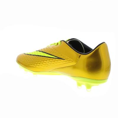 Chuteira de Campo Nike Hypervenom Dourada Phelon FG