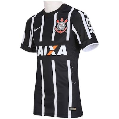 Camisa Nike Corinthians II 2014 s/nº - Jogador