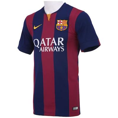 Camisa Nike Barcelona I 2014-2015 s/ nº