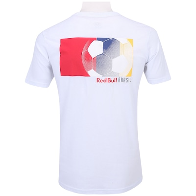 Camiseta Red Bull Flag Color - Masculina
