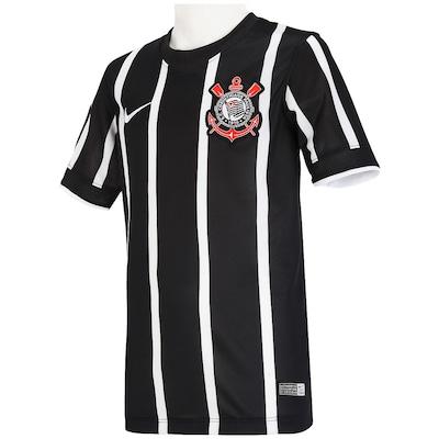 Camisa Nike Corinthians II 2014 s/nº - Juvenil