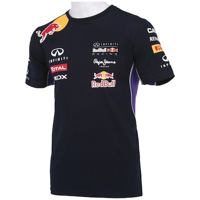 Camiseta Red Bull Linha Oficial - Masculina