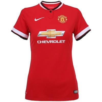 Camisa Nike Manchester United I 2014-2015 s/nº - Feminina