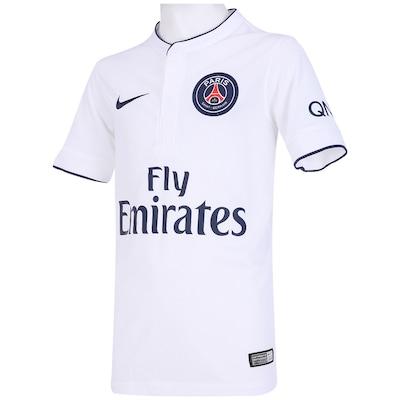 Camisa Nike Paris Saint Germain II 2014-2015 s/ nº - Juvenil