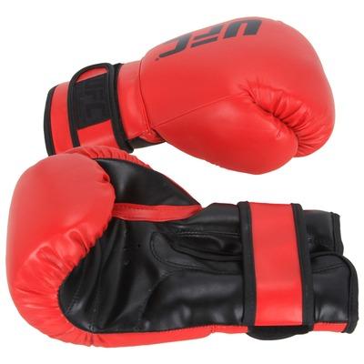 Kit de Boxe UFC com Luva 10 OZ Bandagem e Protetor Bucal - Adulto