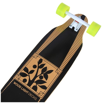 Long Board Wood Light Simétrico W097