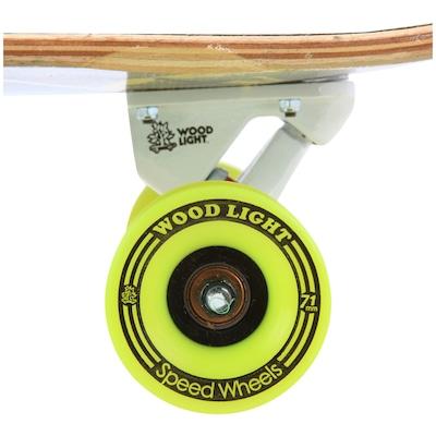 Longboard Wood Light Free Ride W102