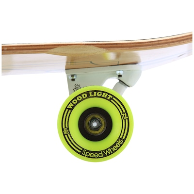 Longboard Wood Light Free Ride W104