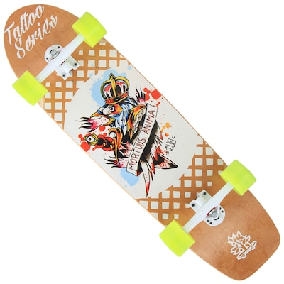 Longboard Wood Light Free Ride W105