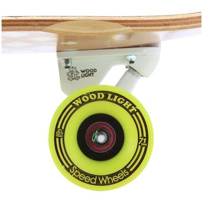 Longboard Wood Light Free Ride W106